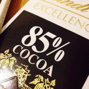85% Kakao från Lindt.