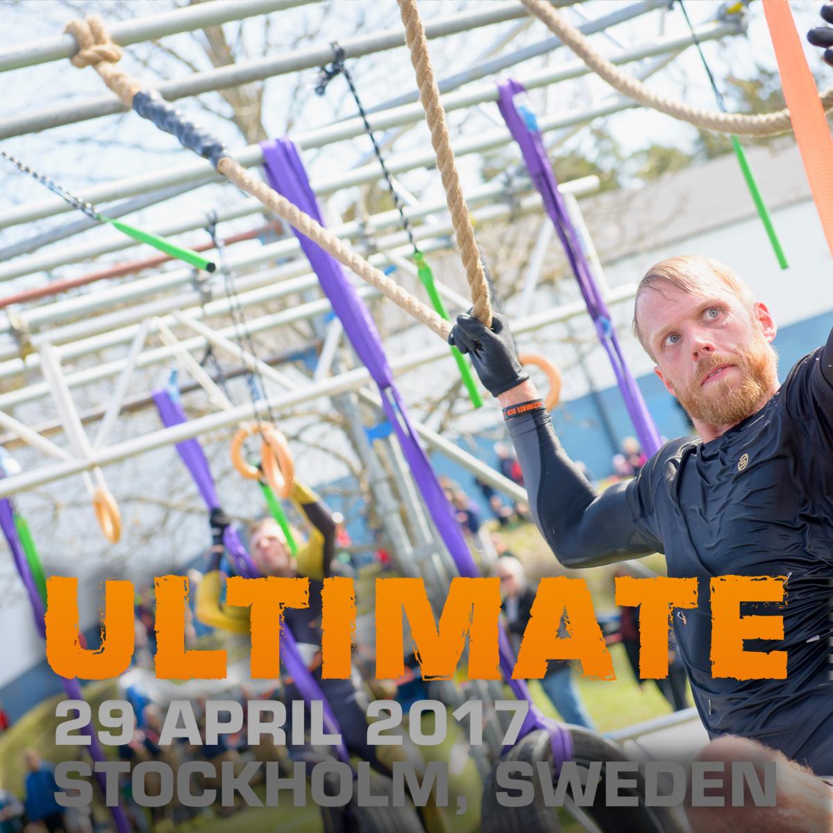 Hinderbaneloppet Ultimate OCR, Stockholm 2017