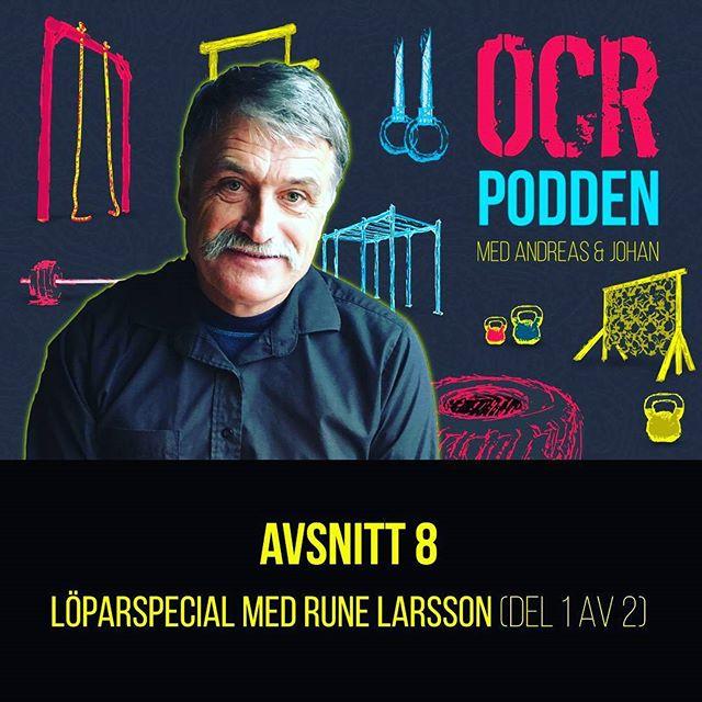 Avsnitt 8. En fantastisk intervju med Rune Larsson.  En av Sveriges bästa långdistanslöpare. Här får du massor av tips hur du ska bli en bättre löpare!