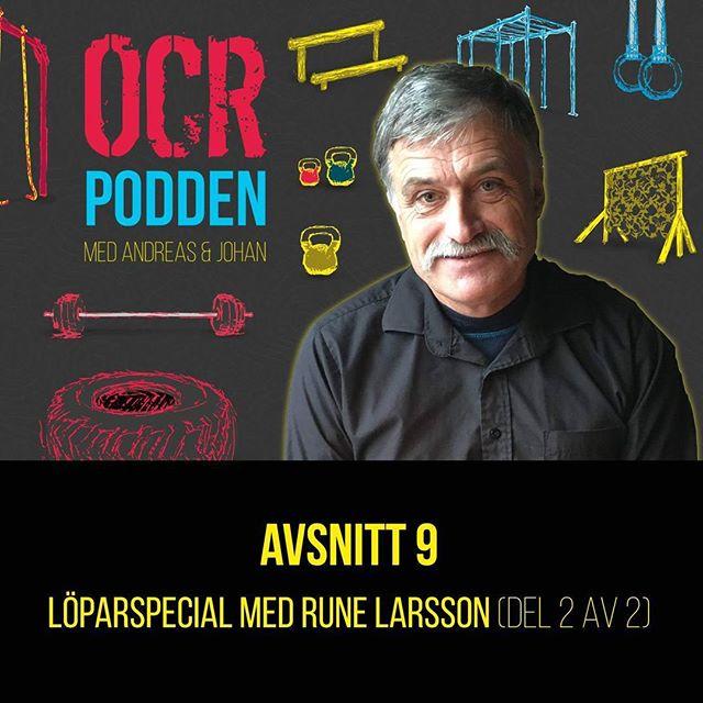 Avsnitt 9 - Rune Larsson del 2 och en lyssnarfråga.  Hur kan du koppla en död kanin till löpning och hur löser du ditt livspussel egentligen?