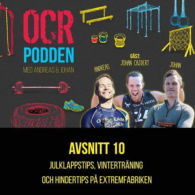Nu är avsnitt 10 ute!  Vi snackar julklappar, träning i Spanien och du får tips från @extremfabriken  Enjoy!  @ocr_trainingcamp