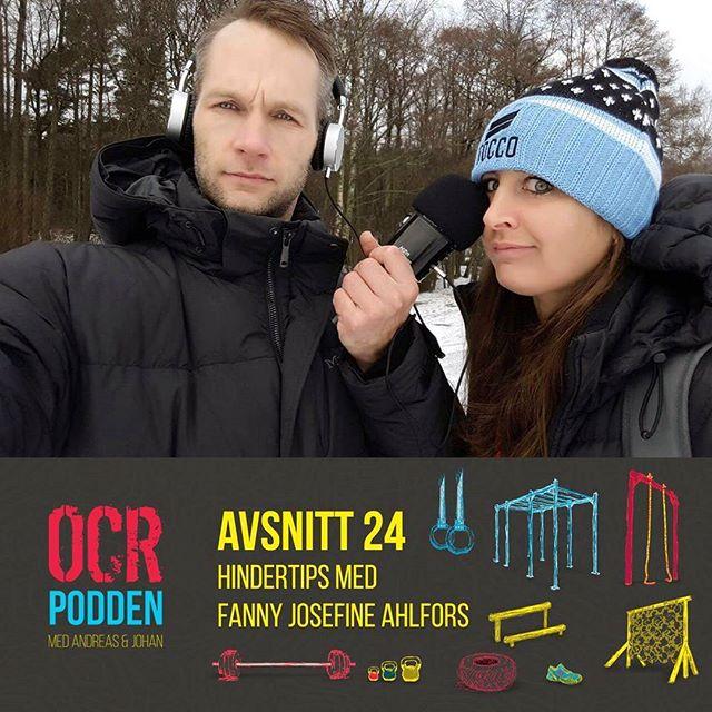 Avsnitt 24 - Hindertips  med Fanny Josefine!  Här får du bland annat klättertips, vet hur många pullups Josefine gjorde på ett träningspass och varför oliver kan bli din nya följeslagare på långlopp.  Enjoy!   @fanny_josefine