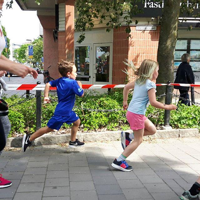 Valters första tävlingslopp och ett rejält löpsteg!