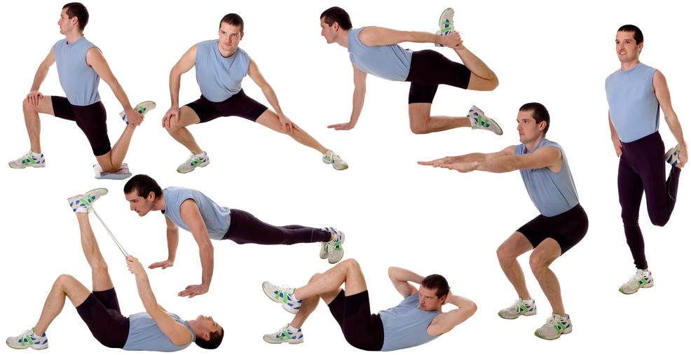 hur blir man smal med träning
