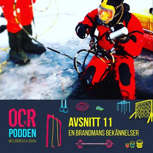 I det senaste avsnittet intervjuas Andreas om sitt yrke som brandman. Hur gick det när en barnvagn gick genom isen? Vad har snowboard och brandmän gemensamt och vad är  brandmän duktiga på som vi kan ha nytta av på ett OCR? Det och mycket mer i dagens avsnitt. Lyssna via din podcast-app eller via hemsidan, länk finns i profilbeskrivningen