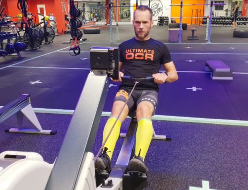 Crossfitinspirerad OCR-träning